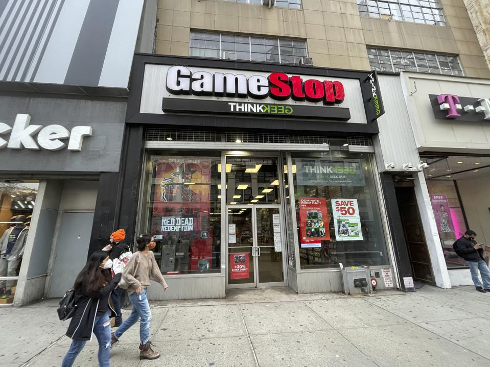 GameStop stock surges 53% today - 3/25/21