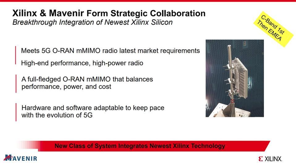 Mavnir & Xilinx Form Strategic Collaboration