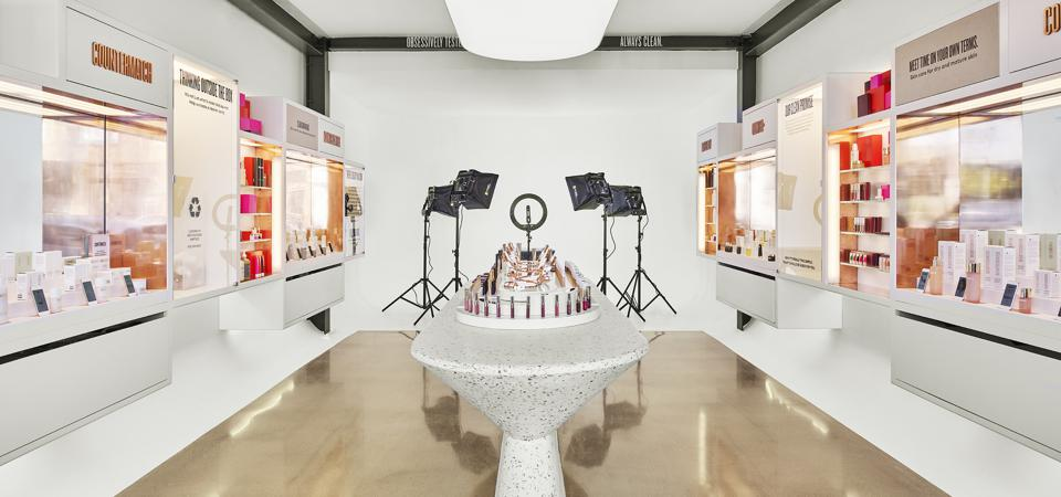 Beautycounter's store in Venice, CA, doubles as a livestream content studio.