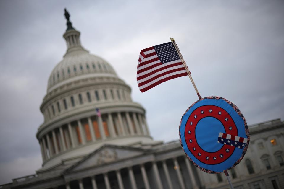 Congress Holds Joint Session To Ratify 2020 Presidential Election
