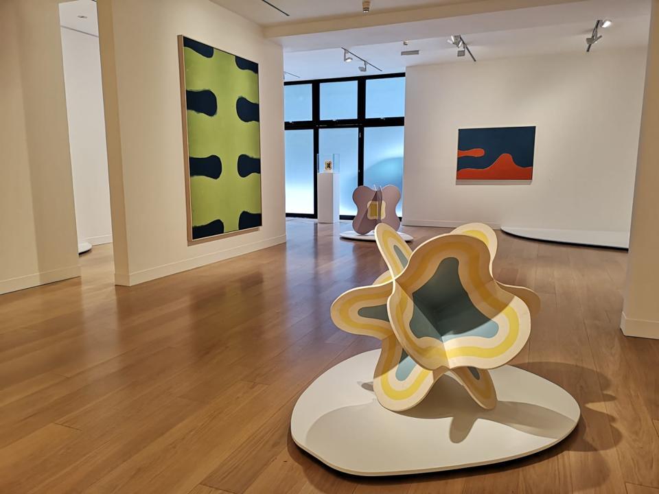 paintings, sculptures