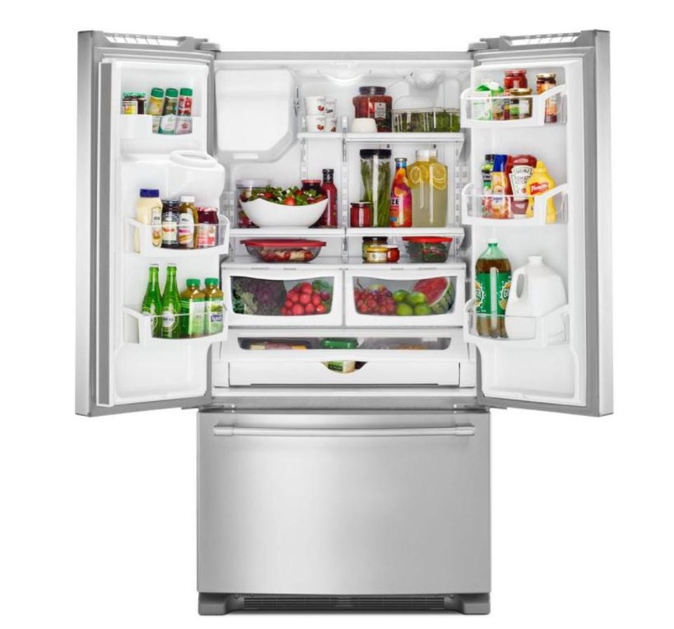 Maytag 25 Cubic Foot French Door Refrigerator
