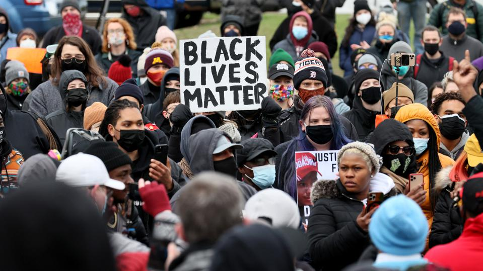 Police Shooting Death Of Young Black Man Near Minneapolis Sparks Protests