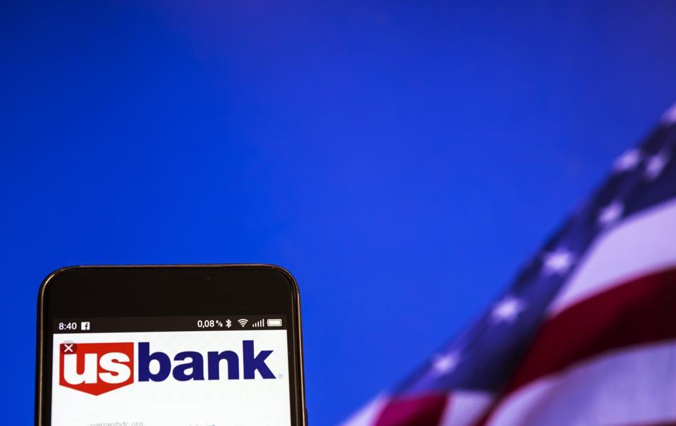 U.S. Bancorp logo seen displayed on a smart phone