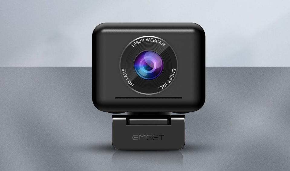 Front view of eMeet Jupiter webcam