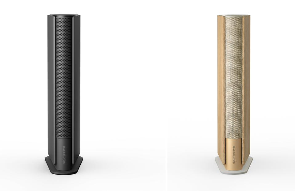 Gold Tone and Anthracite Beosound Emerge on a white background.