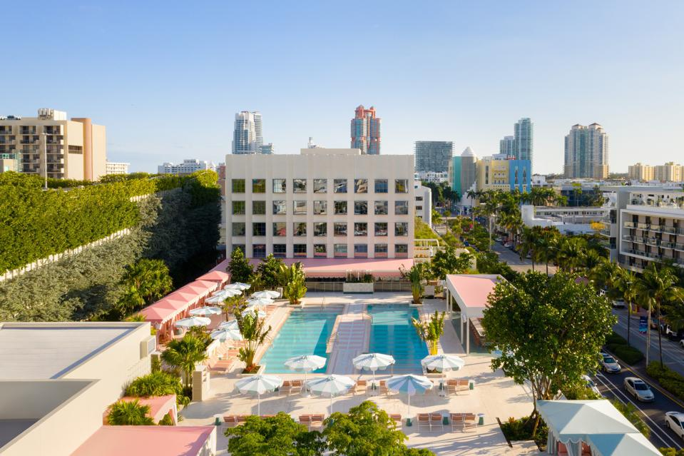 Miami's new Goodtime Hotel takes up full square block and spreads over 100,000 square feet