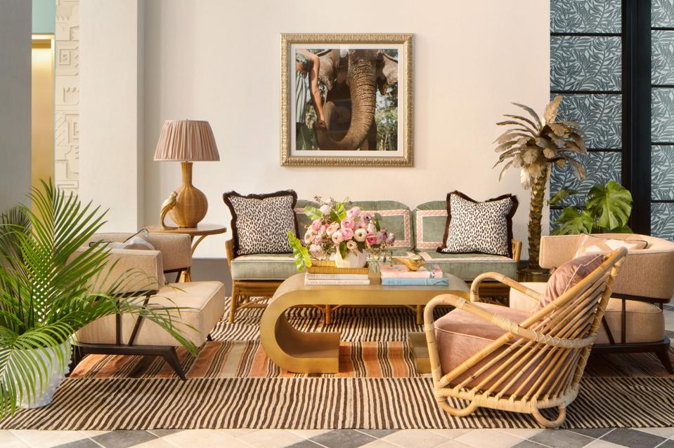 Designer Ken Fulk is responsible for The Goodtime Hotel's stylish vibes