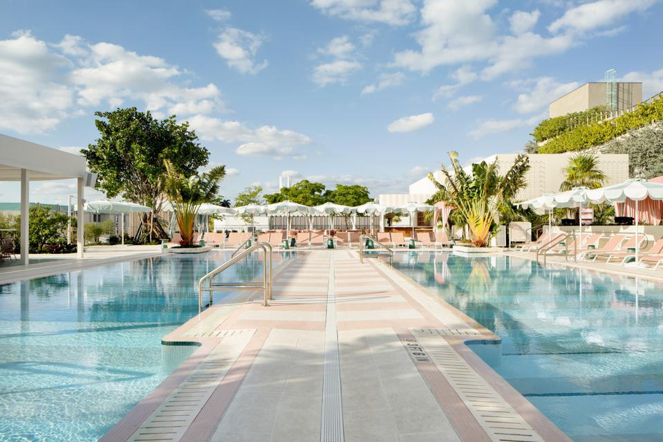 The Goodtime Hotel's 30,000 square foot pool club