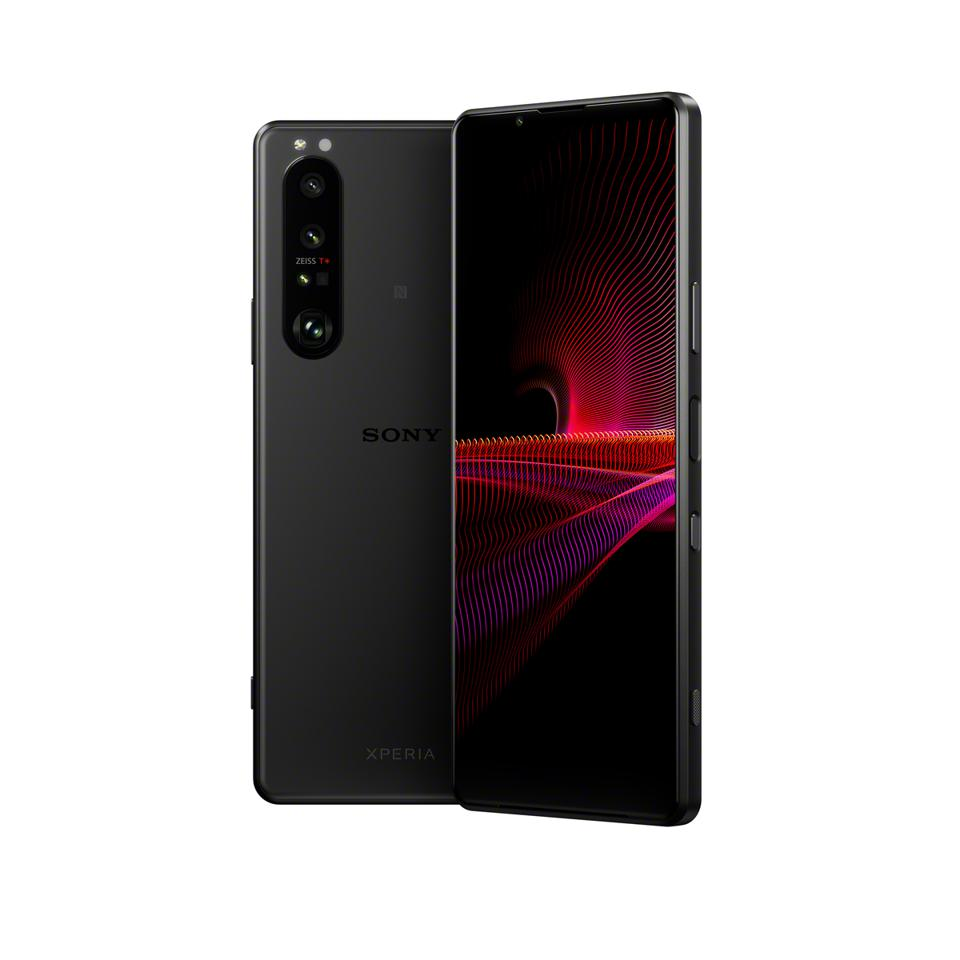 Sony Xperia 1 III in frosted black finish