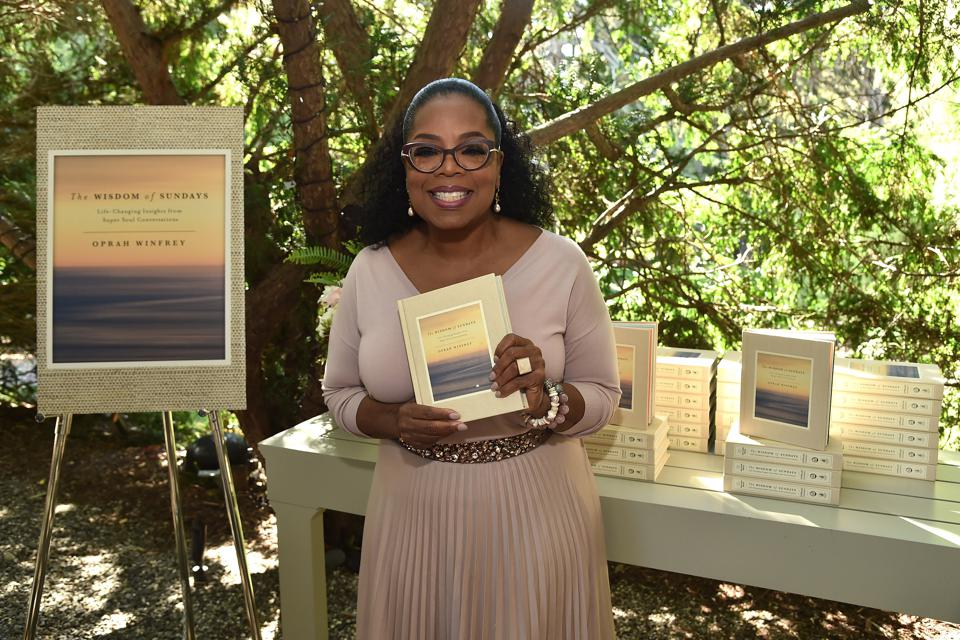 Oprah Winfrey's Gospel Brunch Celebrating Her New Book ″Wisdom Of Sundays″