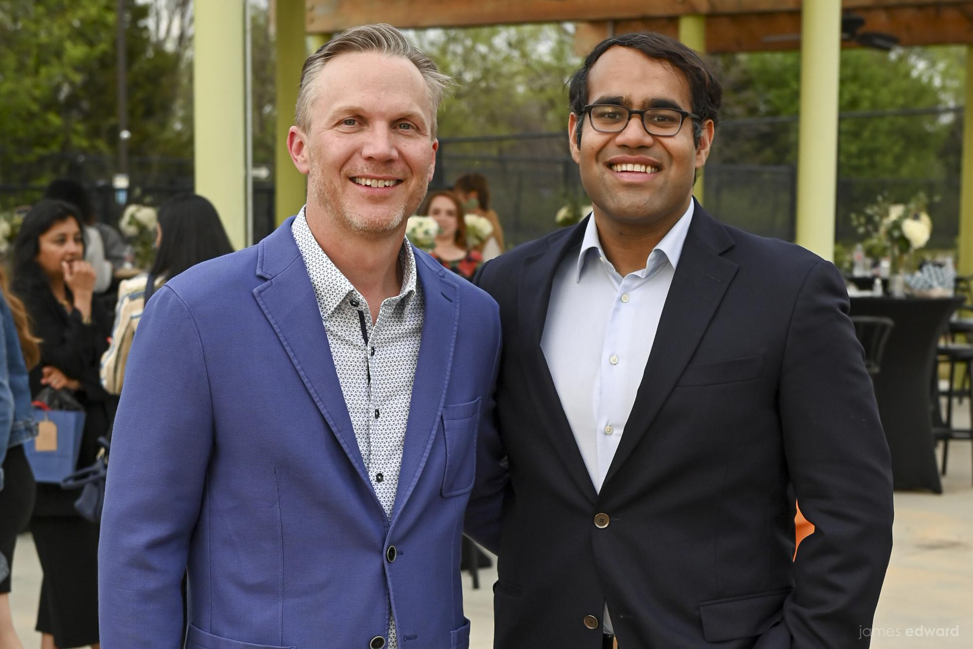 Shiftsmart cofounders Patrick Brandt and Aakash Kumar