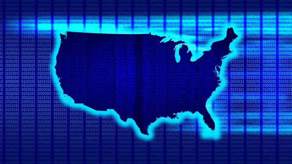 United States Map 101010