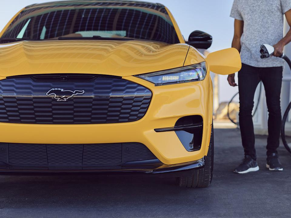 Battery electric Mustang