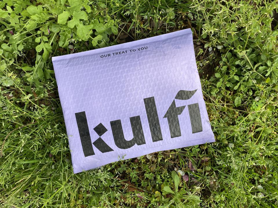 The packaging for Kulfi Beauty is biodegradable and recyclable.