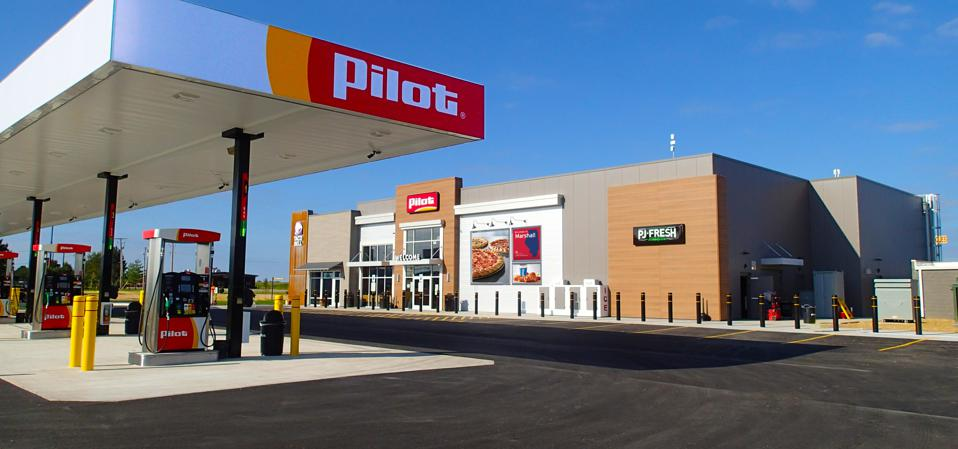 A Pilot Flying J store and gas station