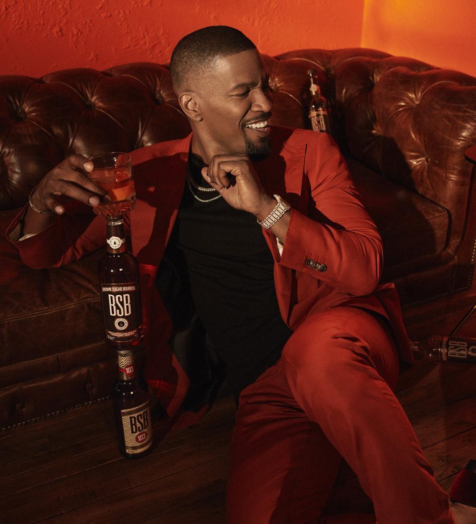 Jamie Foxx is the new owner of BSB-Brown Sugar Bourbon.
