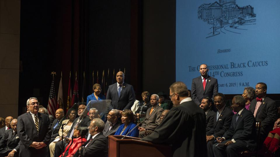 The Congressional Black Caucus Foundation Hosts Ceremonially Swearing-In