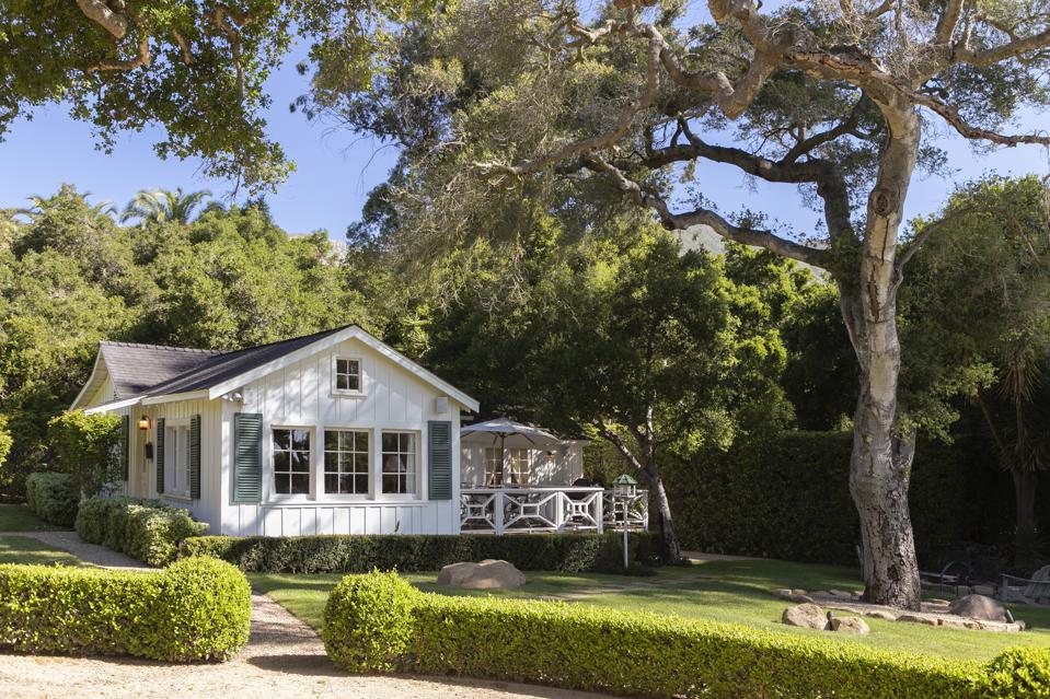 1930s cottage on a trophy estate in montecito sycamore canyon road