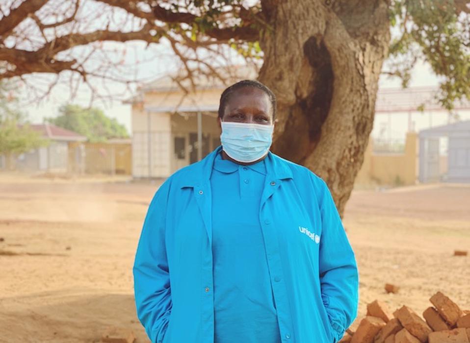Health Specialist Dr. Eva Kabwongera manages UNICEF Uganda's immunization program and emergency health response.