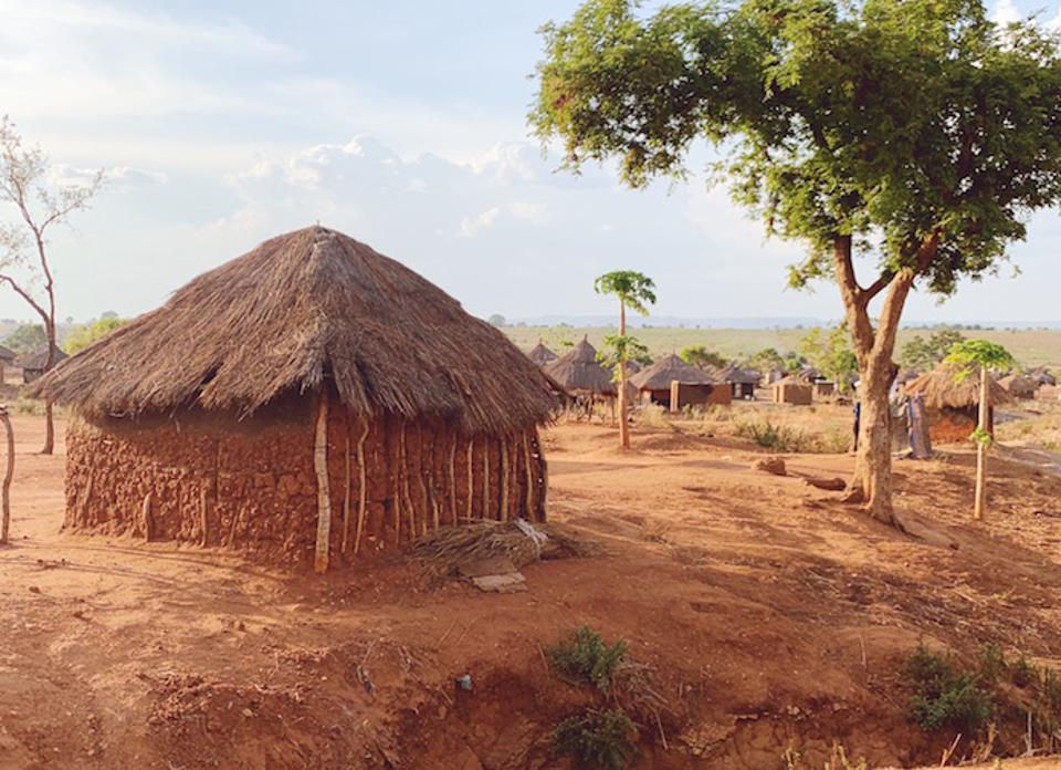 A view of one corner of Uganda's vast Bidi Bidi refugee settlement.