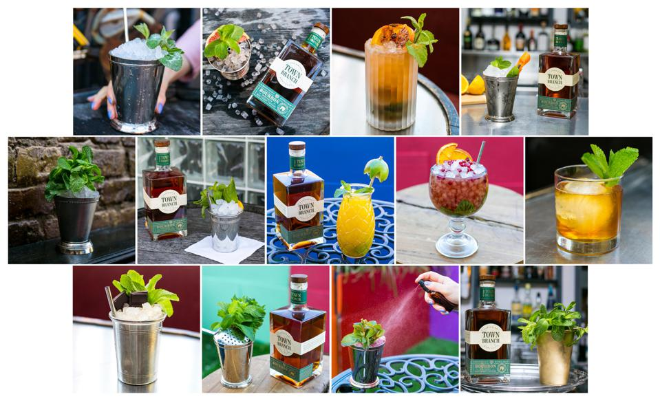 Town Branch Distillery's Mint Julep submisisons