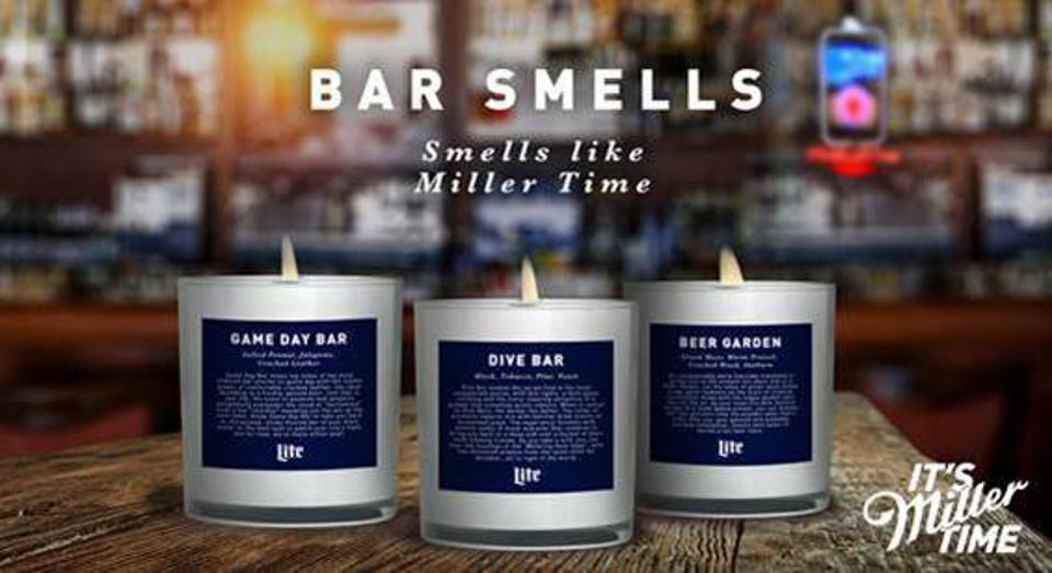 The Bar Smells candle line from Miller Lite completely sold out.