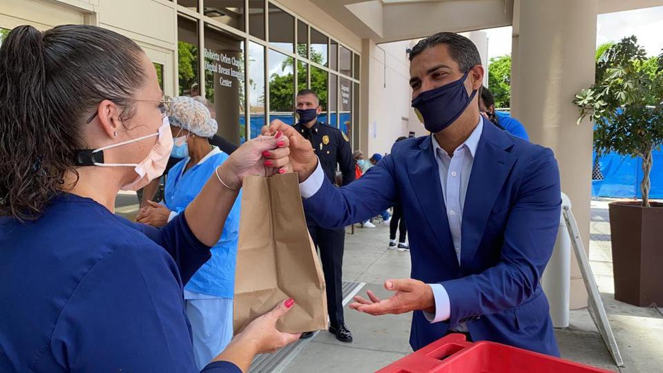 Miami Mayor Francis Suarez pandemic silicon valley tech