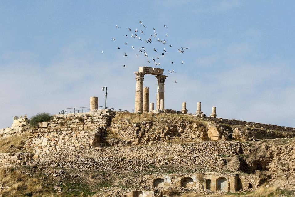 JORDAN-amman-roman-ruins
