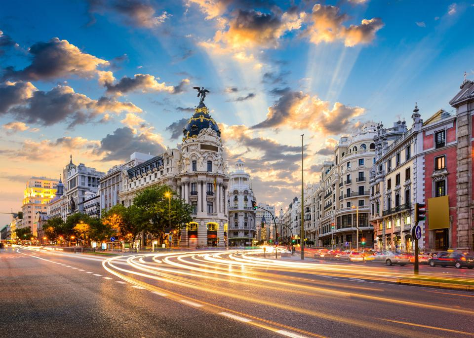 Madrid, the capital of Spain