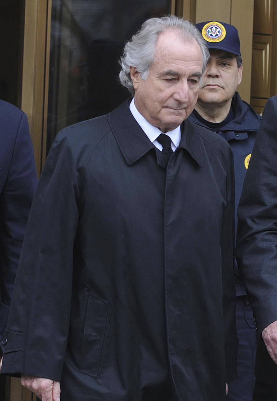 Bernie Madoff died at 82 years old, a dozen years after his scandal rocked the financial services world.
