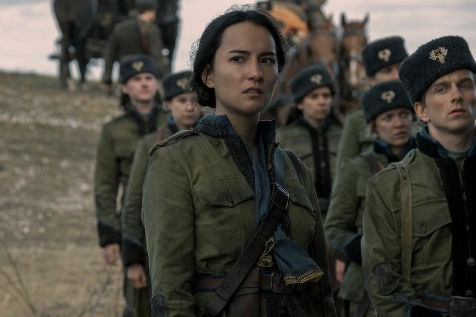 Jessie Mei Li as Alina Starkov in 'Shadow and Bone' coming soon to Netflix.