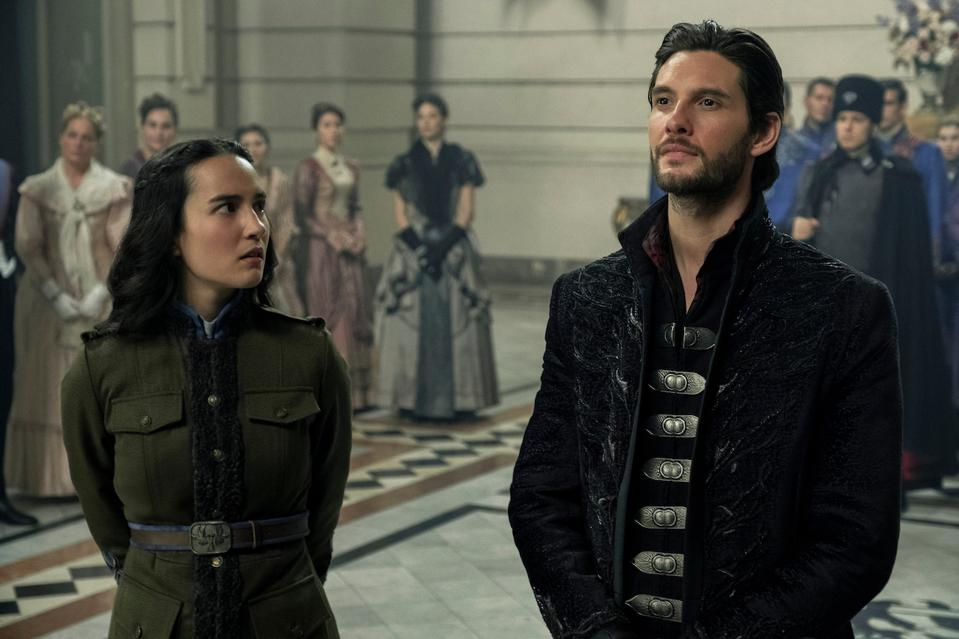 Jessie Mei Li and Ben Barnes in the upcoming Netflix series 'Shadow and Bone'.