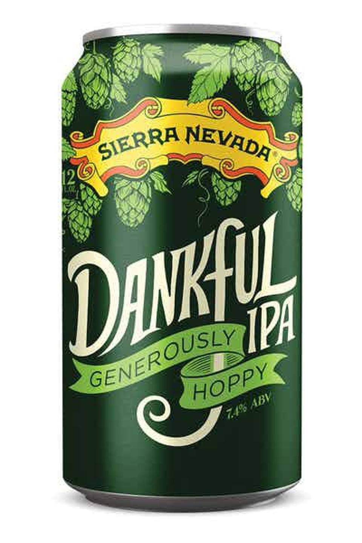 Sierra Nevada Brewing Company's Dankful Generously Hoppy IPA.
