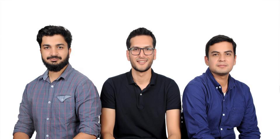 Khalid, Siddiqui and Malik, cofounders of ModulusTech.