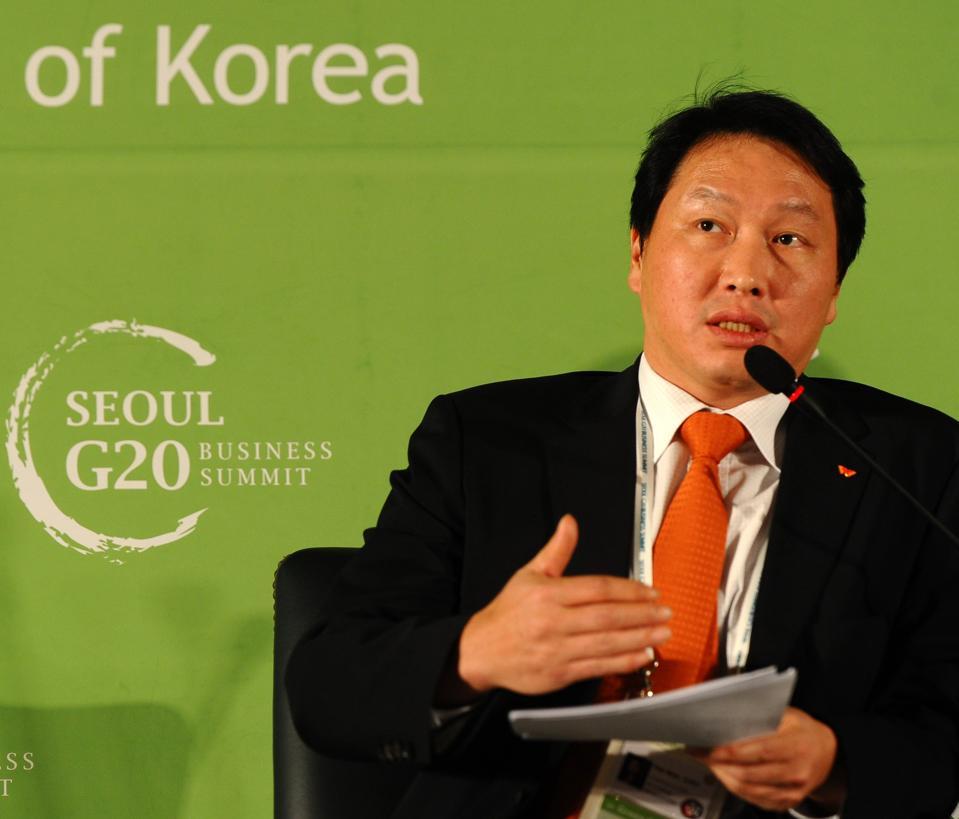 South Korea's SK Group Chairman Chey Tae