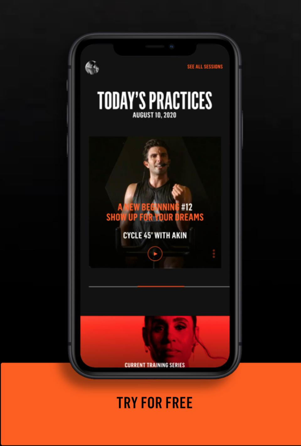 App for AARMY Digital Services showing an instructor for a class