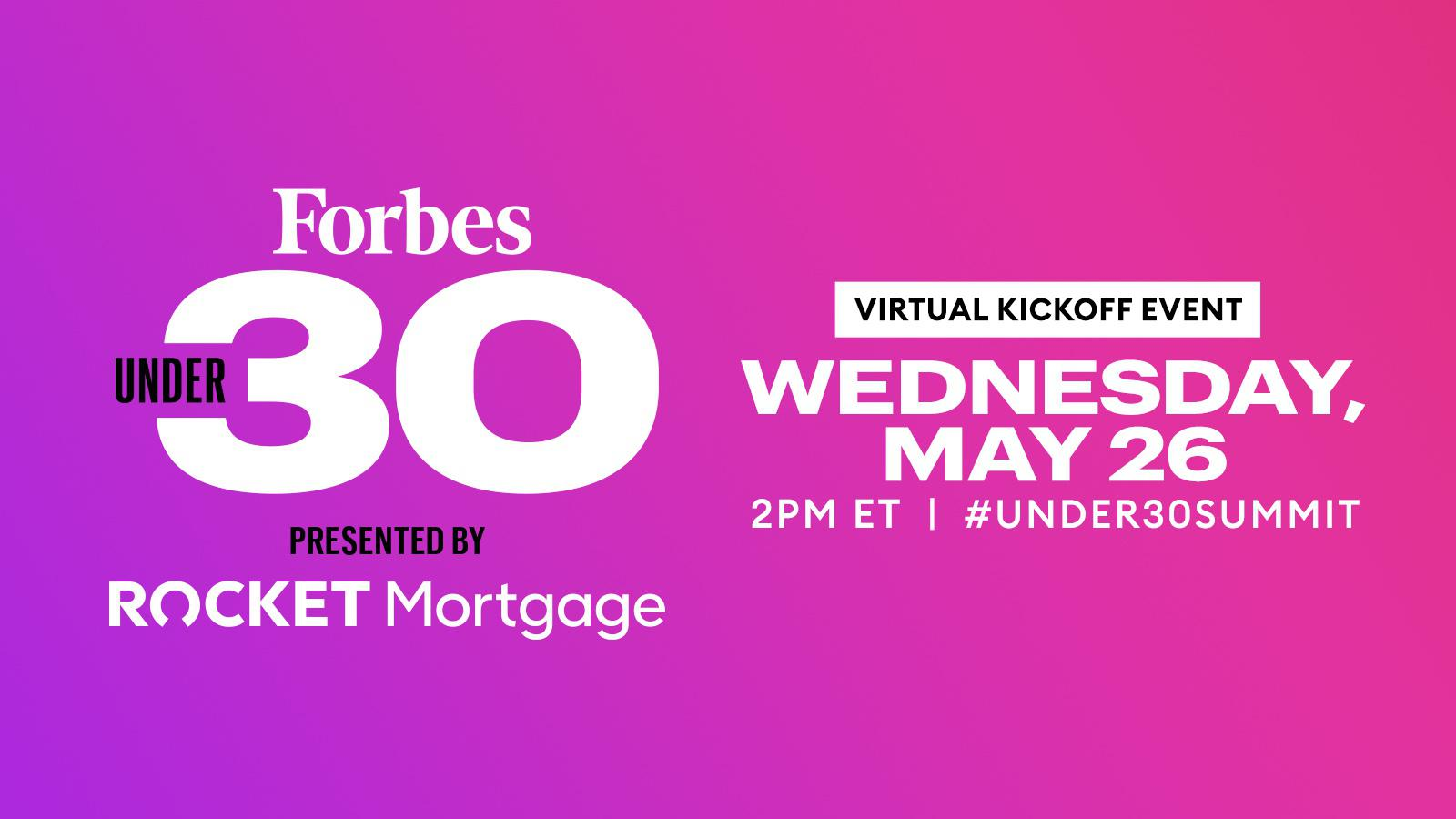 Forbes Under 30 Kick-Off