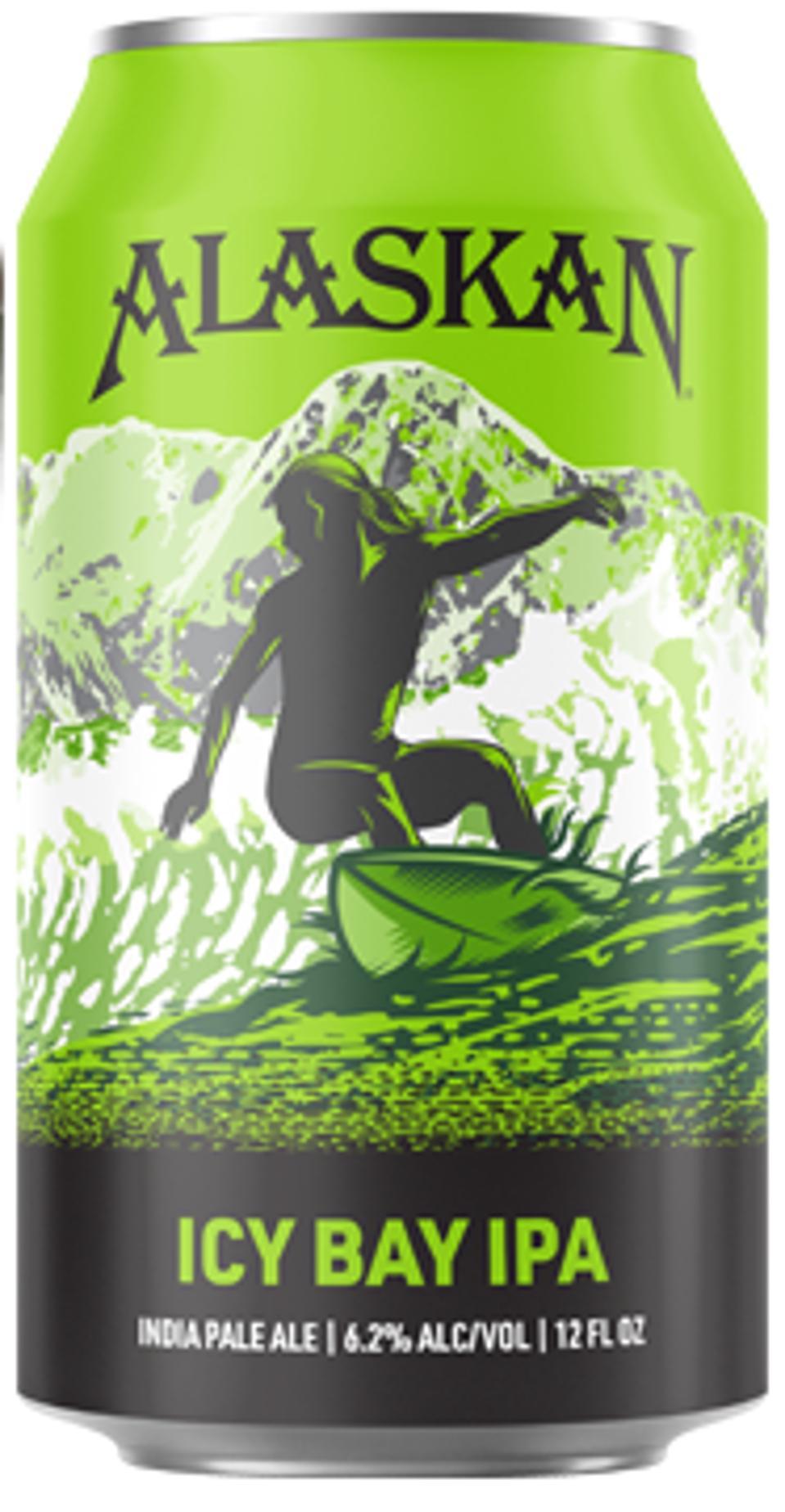 Icy Bay IPA from Alaskan Brewing Company.