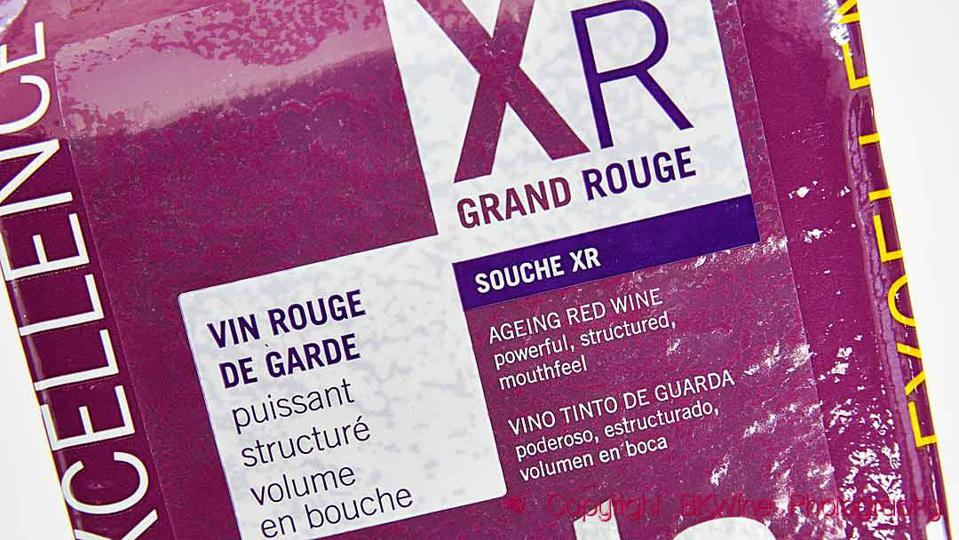 A package of cultured wine yeast XR Grand Rouge