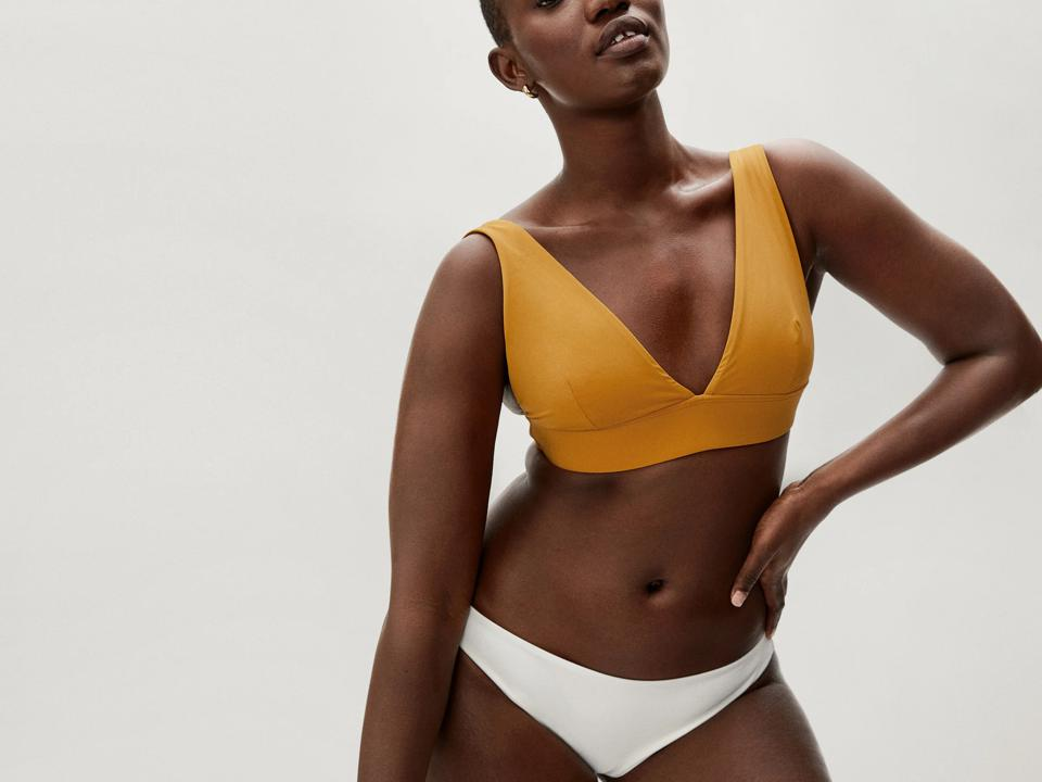 Sustainable swimwear: The Triangle Bikini Top
