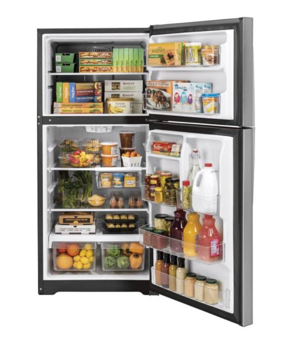 GE 21.9 cu. ft. Top Freezer Refrigerator