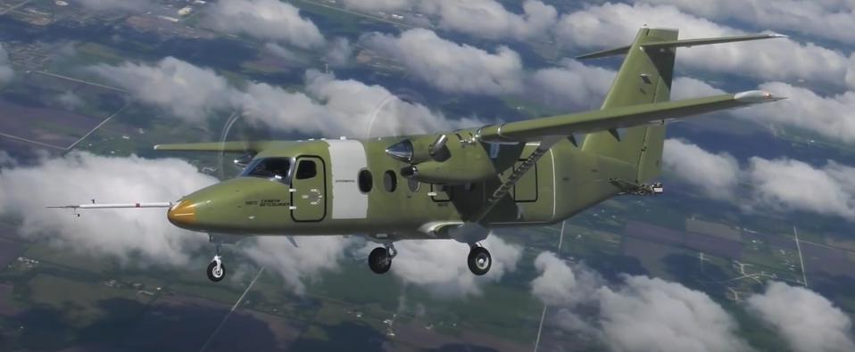 The twin turboprop Cessna 408 SkyCourier is set to debut with FedEx in spring 2022.
