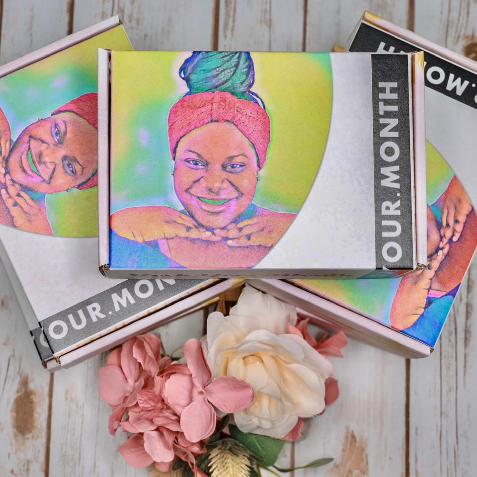 Three Rock Your Month Subscription boxes.