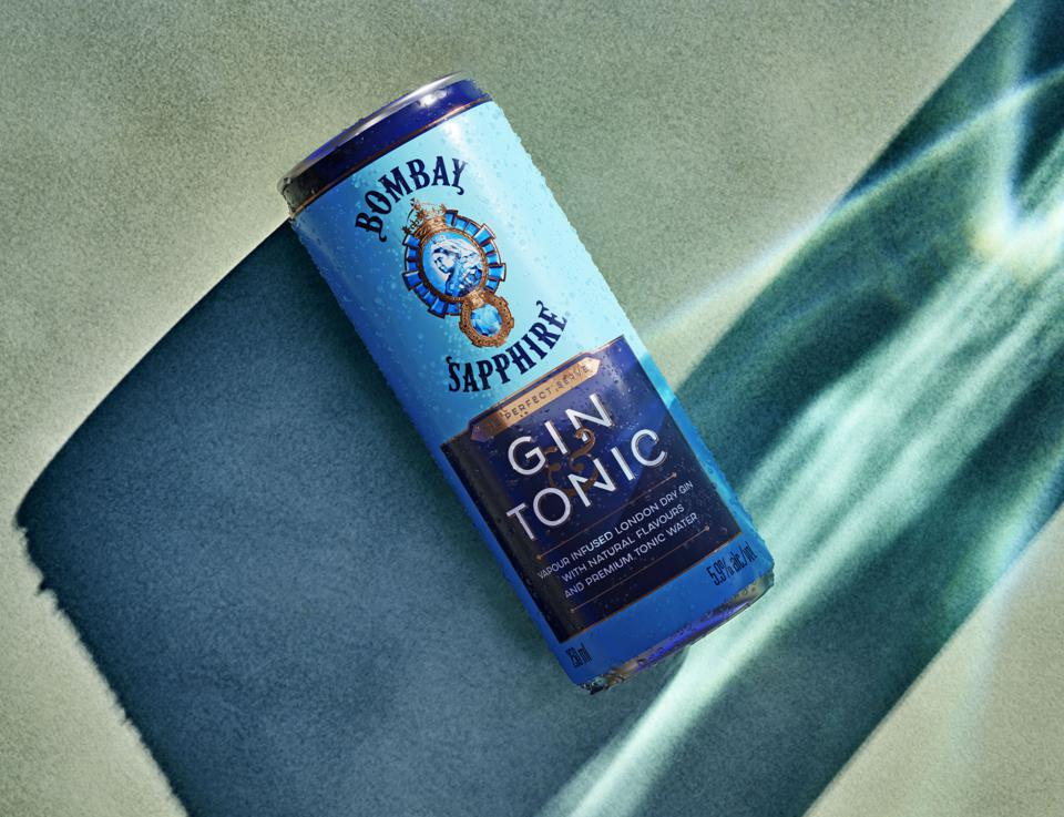 Bombay Sapphire Gin and Tonics