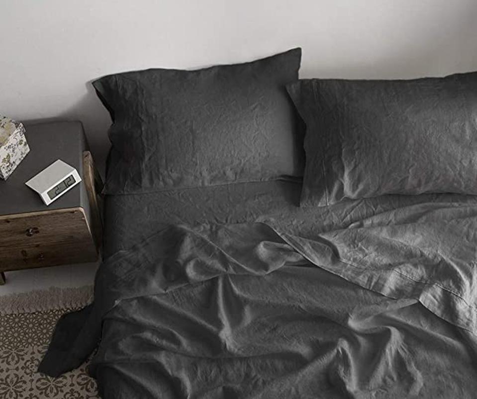 Simple&Opulence 100% Linen Sheet Set