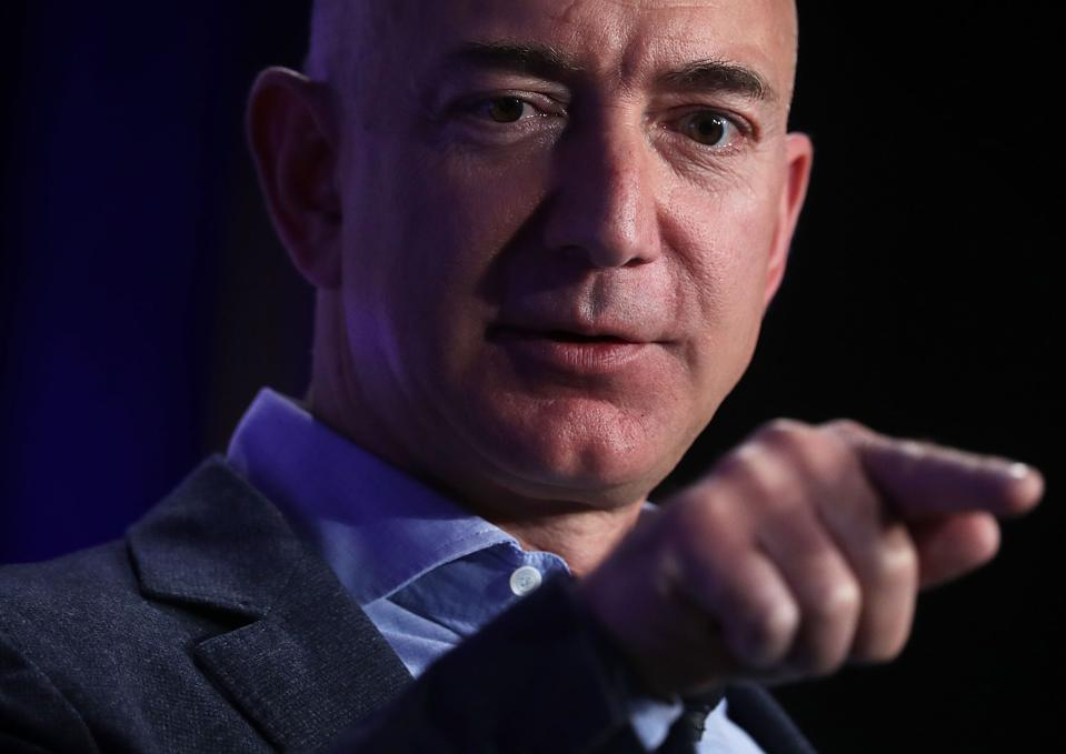Founder And CEO Of Amazon Jeff Bezos Speaks On Advances In Artificial Intelligence