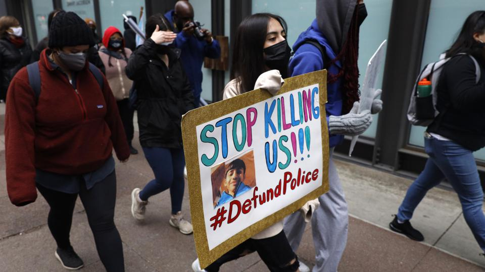 Police Shooting Protest