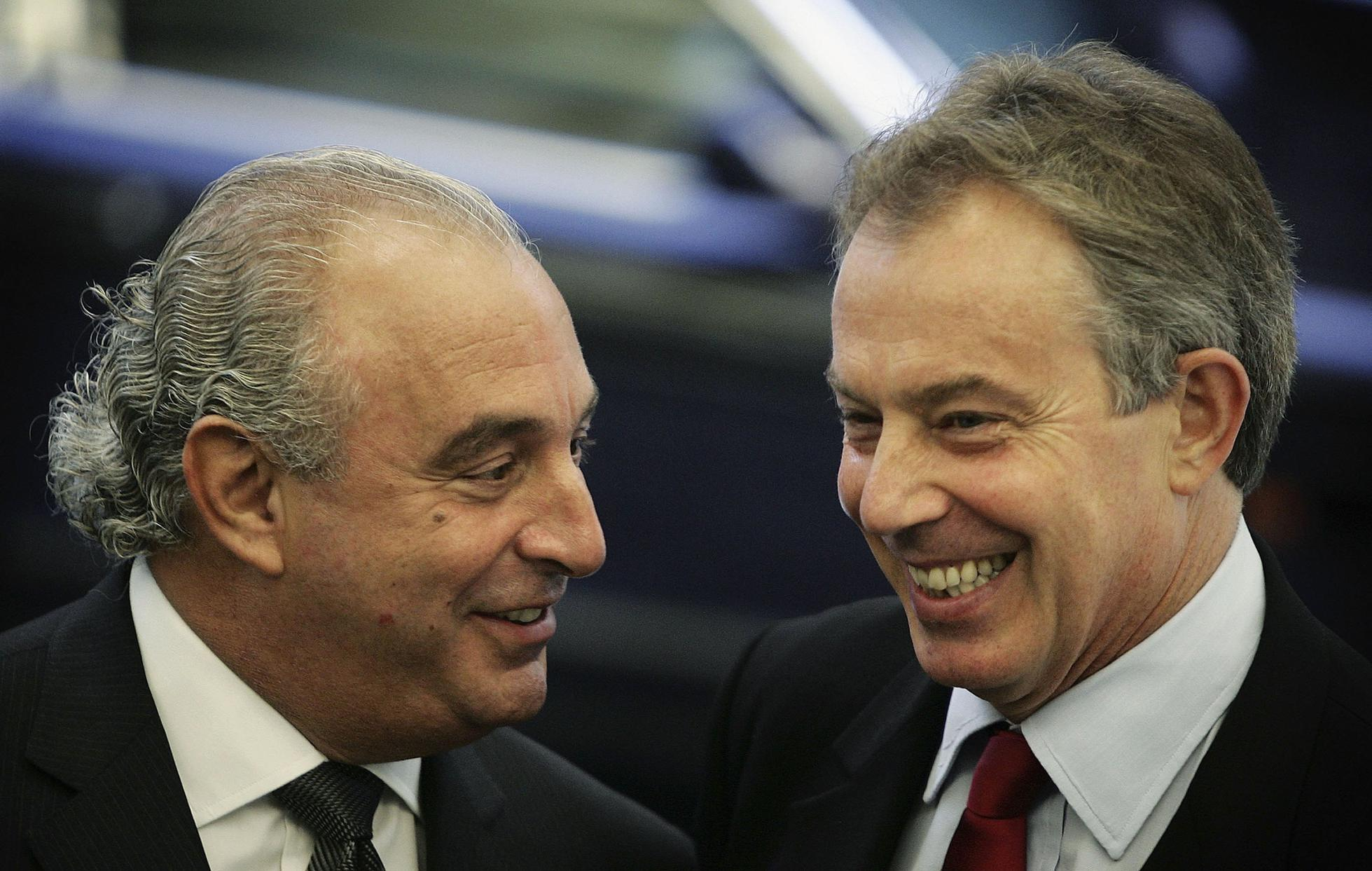 Tony Blair Attends Academy With Businessman Philip Green
