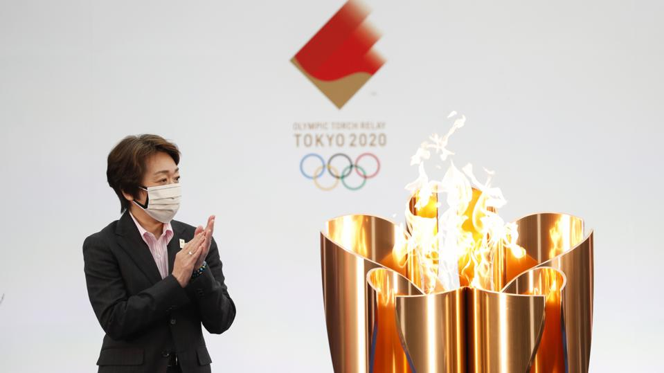 Tokyo Olympic Games Torch Relay Grand Start